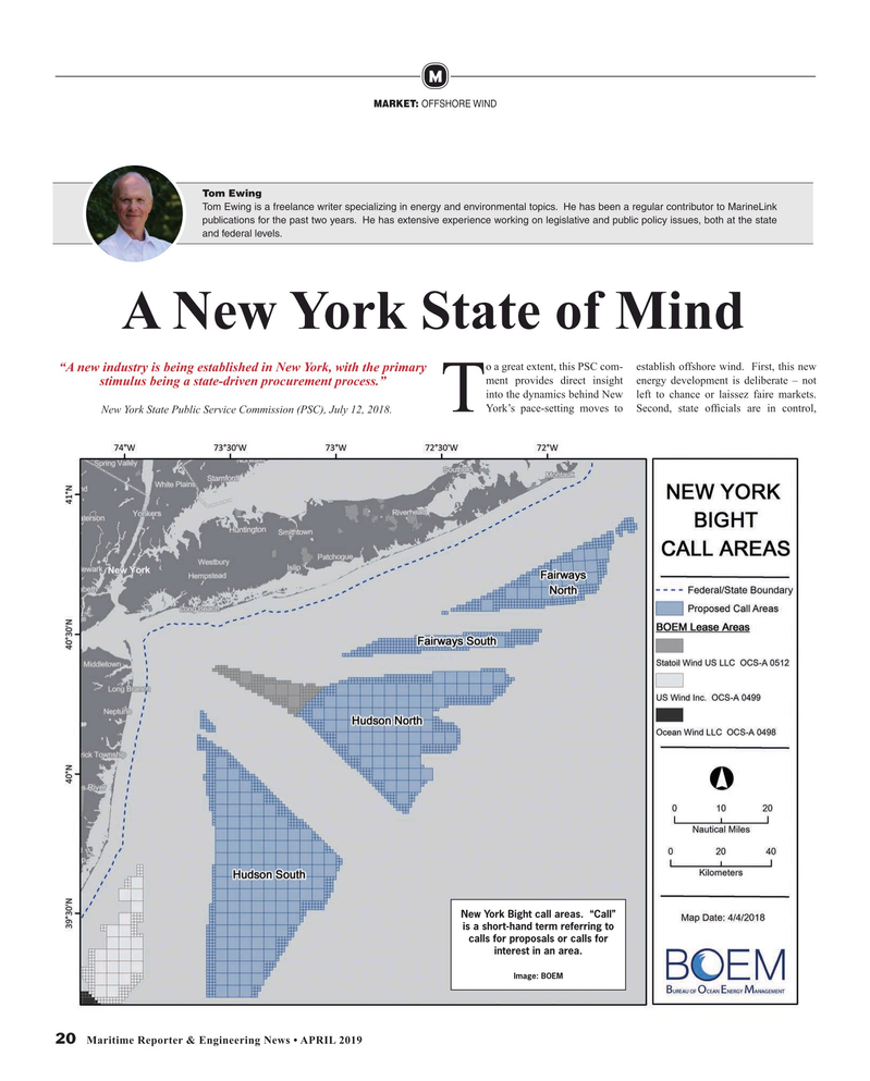 Maritime Reporter Magazine, page 20,  Apr 2019