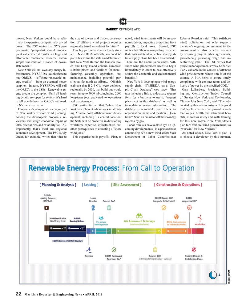 Maritime Reporter Magazine, page 22,  Apr 2019