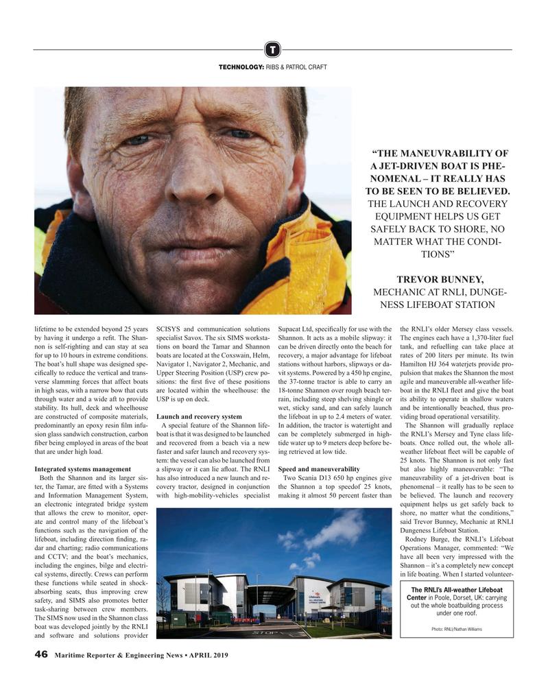 Maritime Reporter Magazine, page 46,  Apr 2019