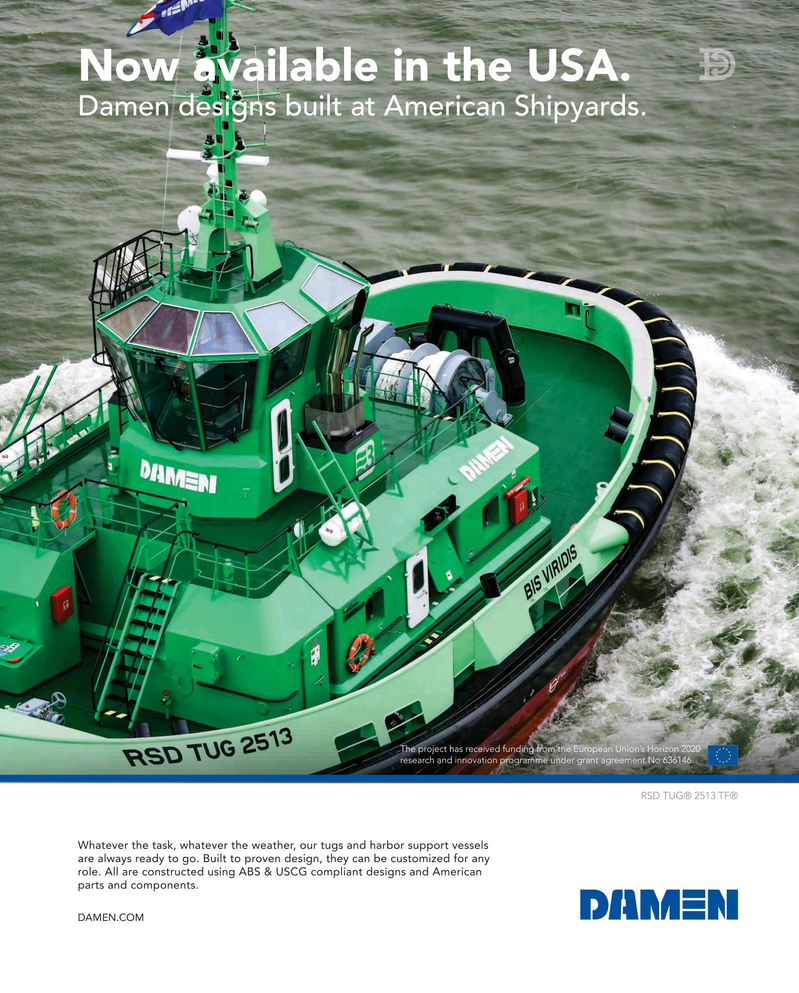 Maritime Reporter Magazine, page 11,  May 2019
