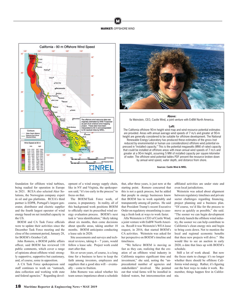 Maritime Reporter Magazine, page 18,  May 2019
