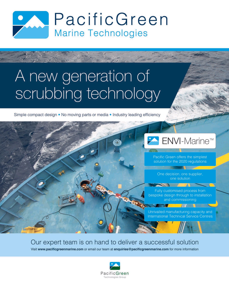 Maritime Reporter Magazine, page 1,  May 2019
