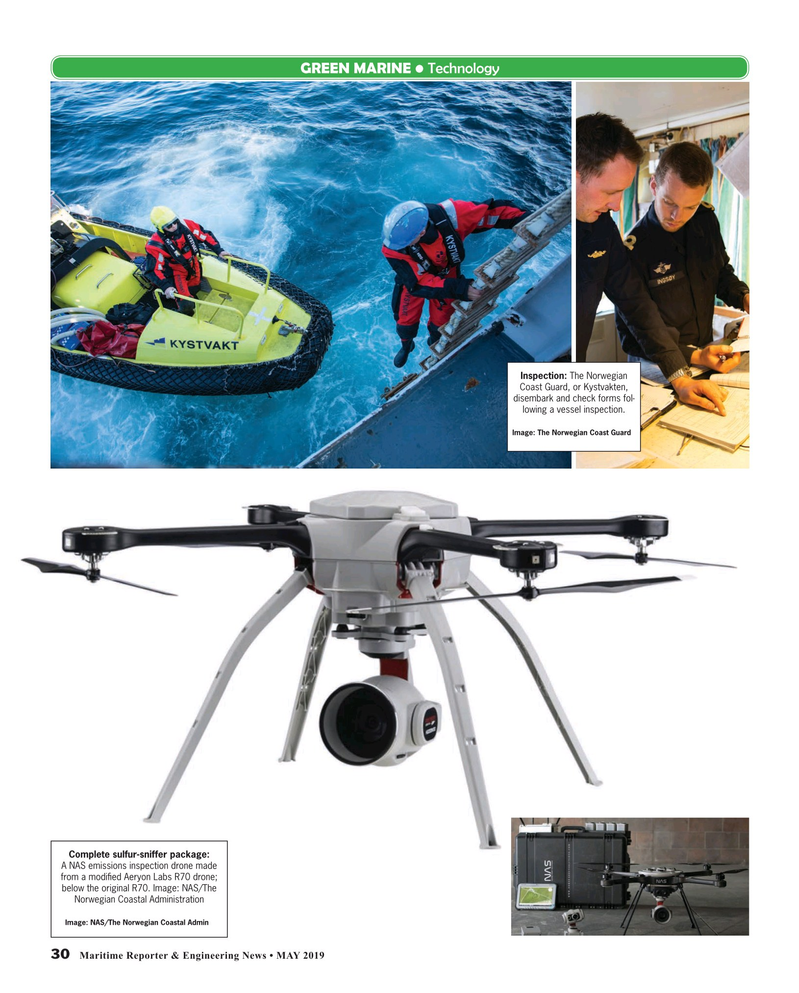 Maritime Reporter Magazine, page 30,  May 2019