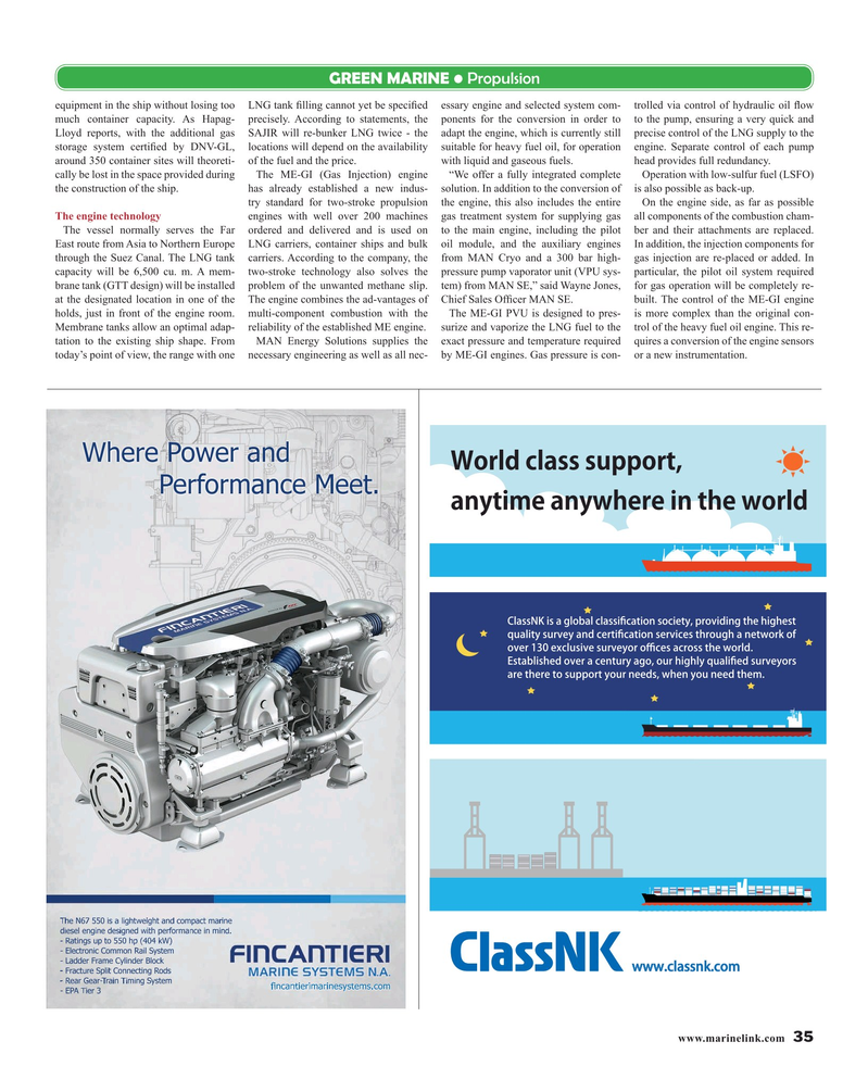 Maritime Reporter Magazine, page 35,  May 2019