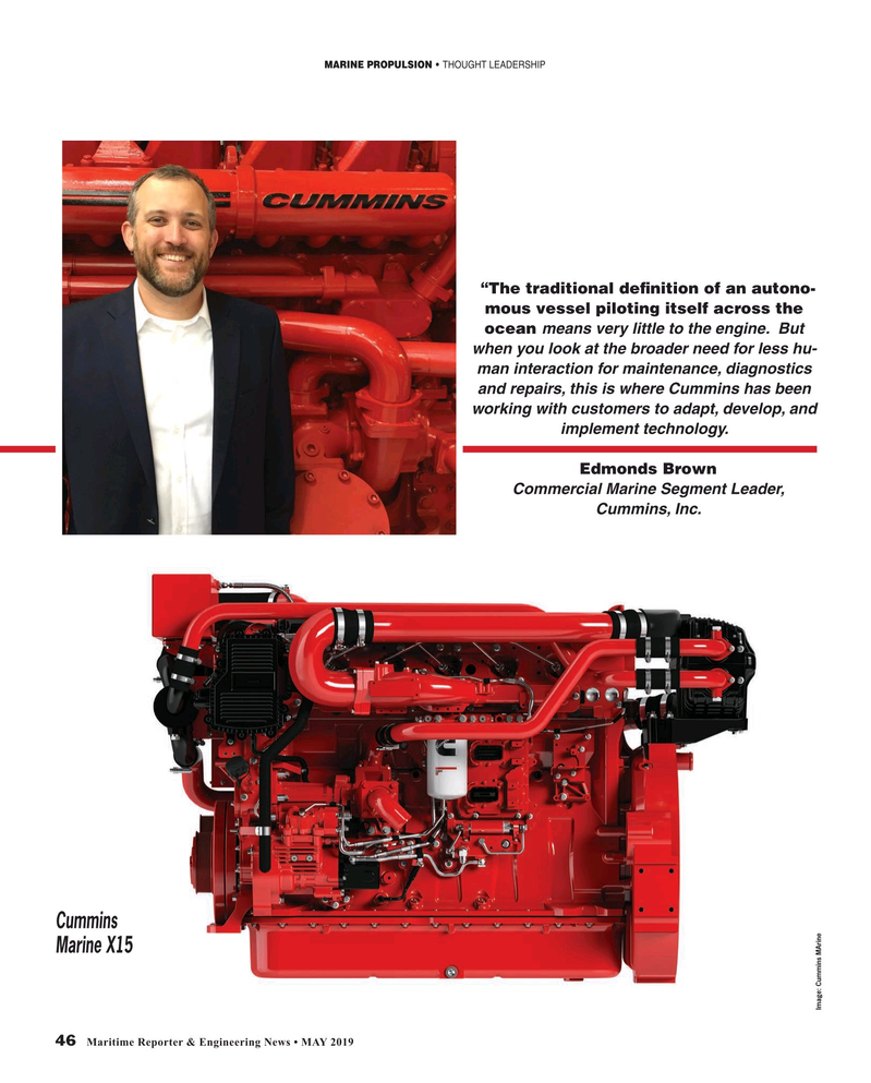 Maritime Reporter Magazine, page 46,  May 2019