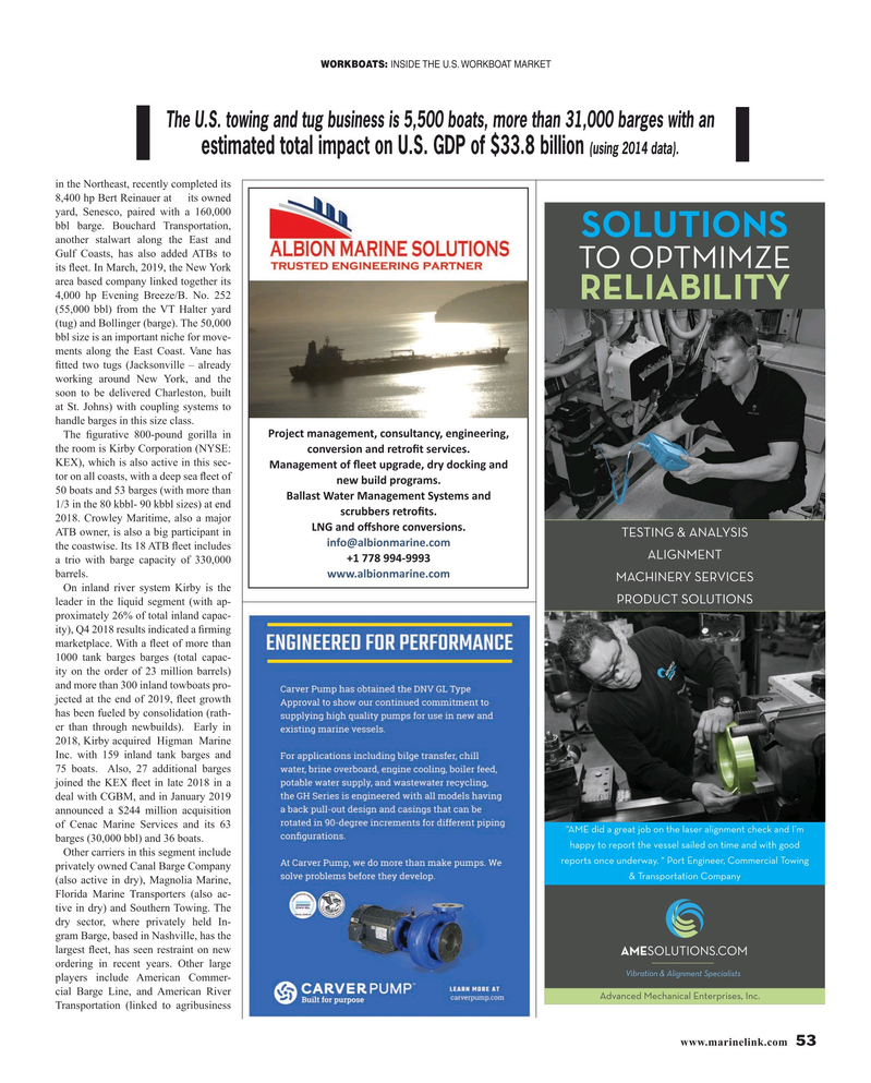 Maritime Reporter Magazine, page 53,  May 2019