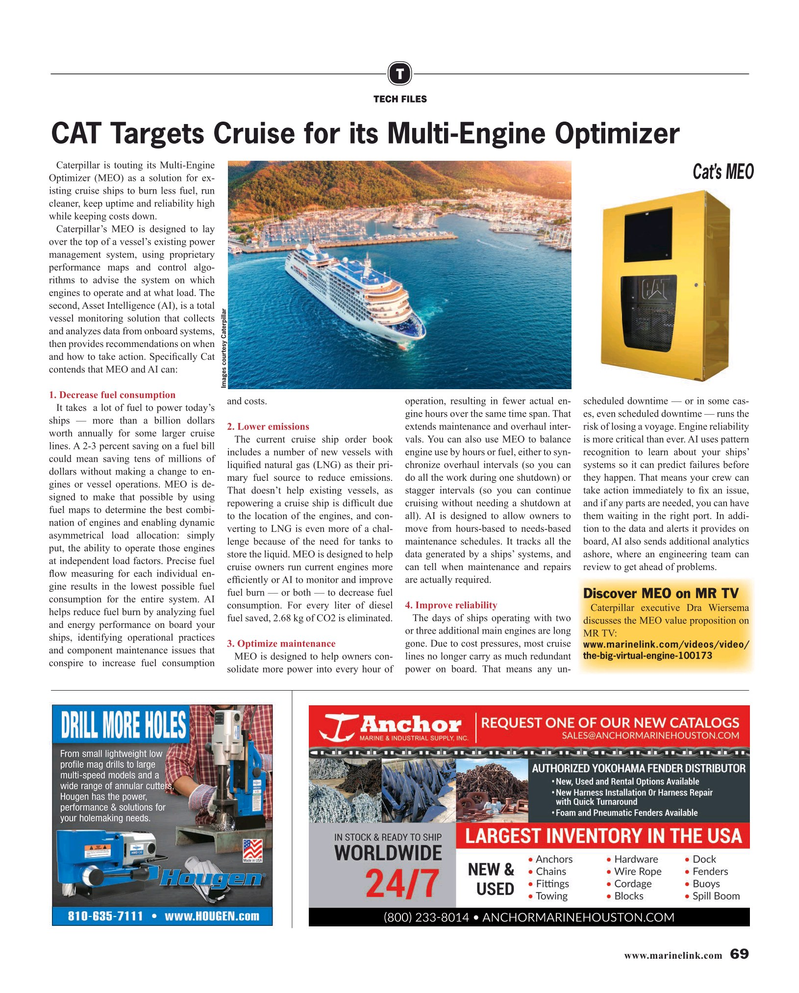 Maritime Reporter Magazine, page 69,  May 2019