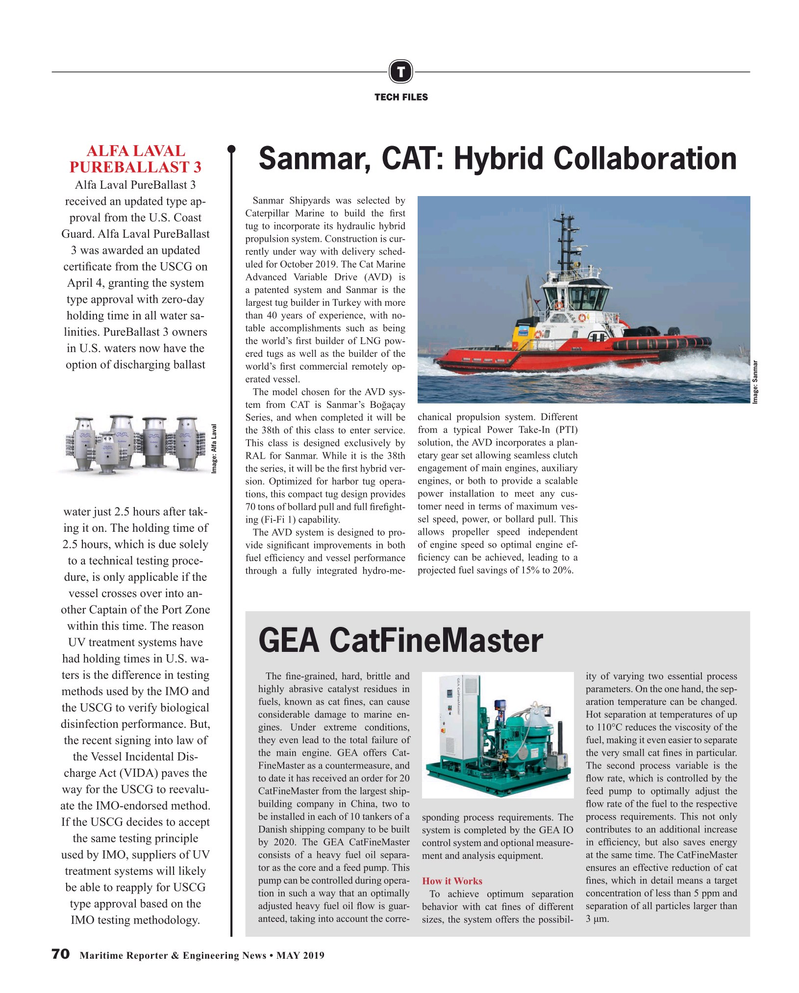 Maritime Reporter Magazine, page 70,  May 2019