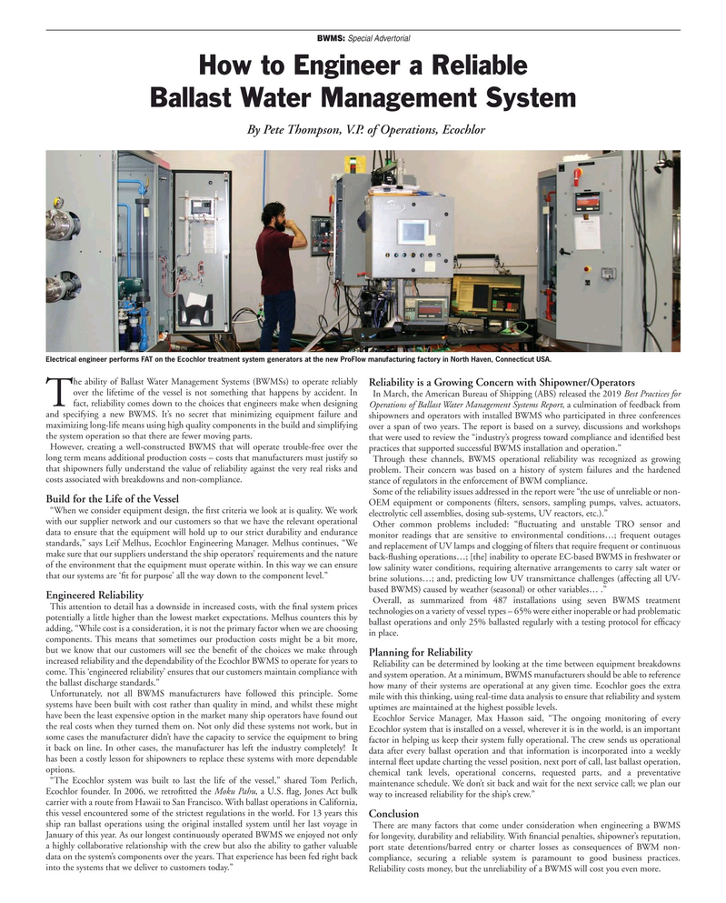 Maritime Reporter Magazine, page 79,  May 2019