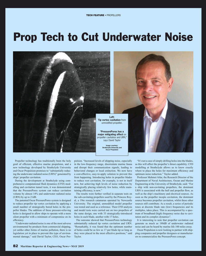 Maritime Reporter Magazine May 2019, 82 page