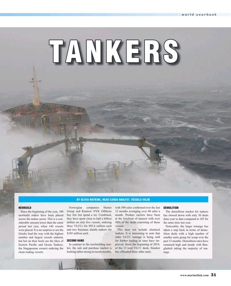 Maritime Reporter Magazine, page 31,  Jun 2019