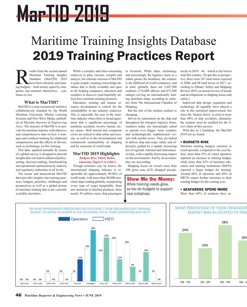 Maritime Reporter Magazine, page 46,  Jun 2019