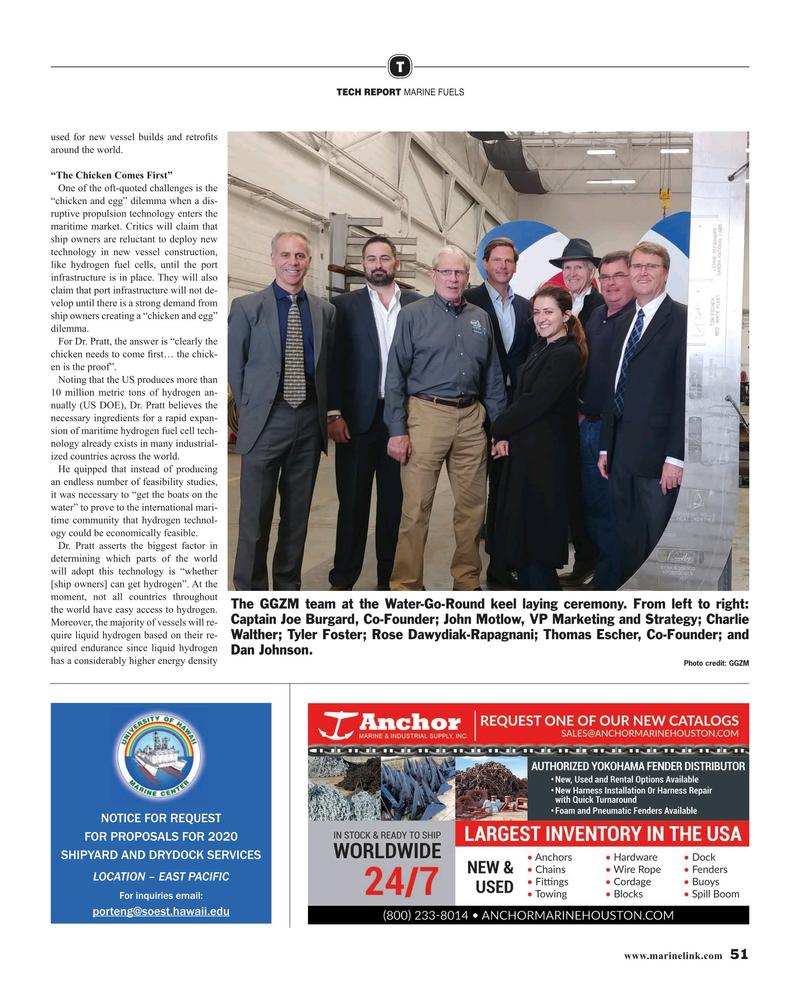 Maritime Reporter Magazine, page 51,  Jun 2019
