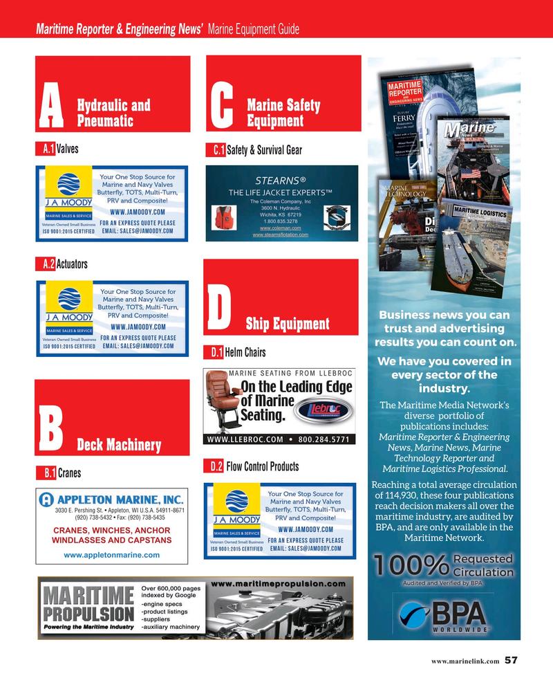 Maritime Reporter Magazine, page 57,  Jun 2019