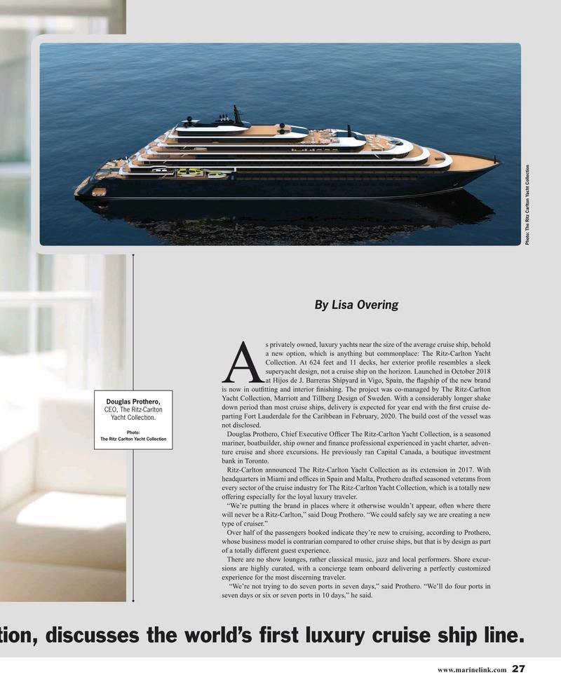 Maritime Reporter Magazine, page 27,  Jul 2019