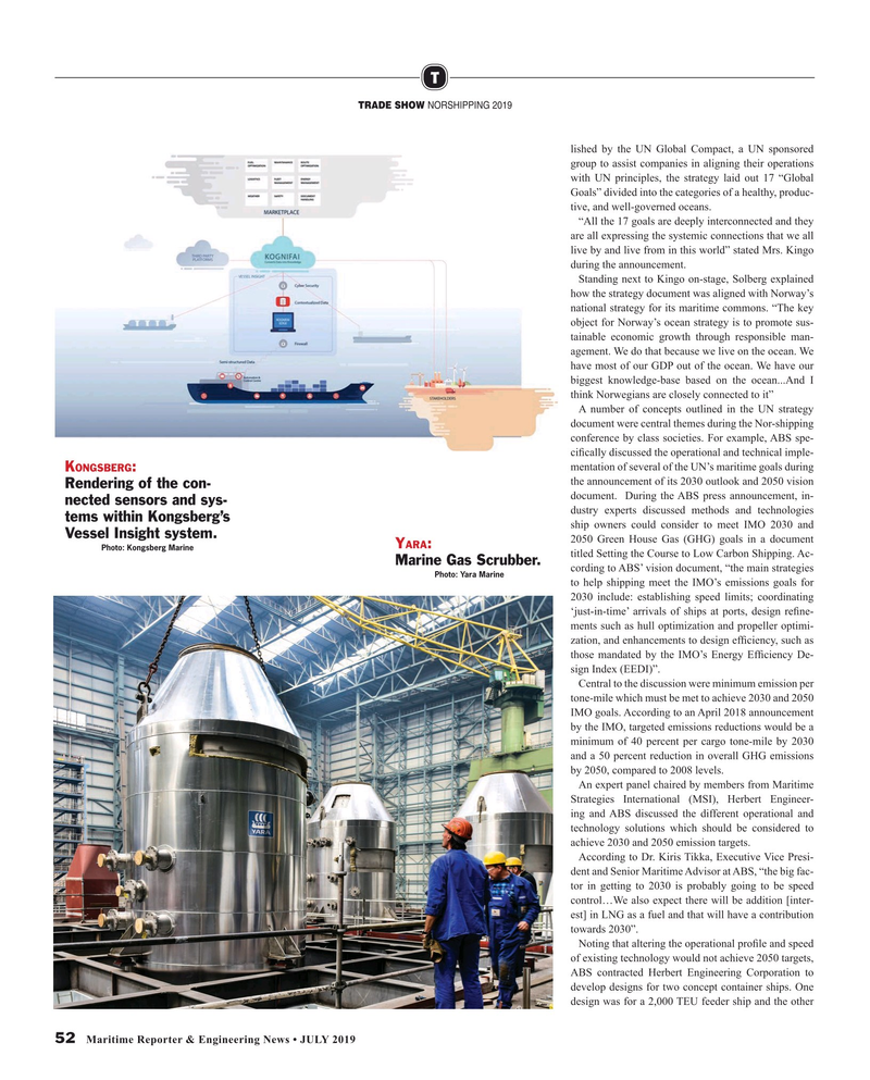 Maritime Reporter Magazine, page 52,  Jul 2019