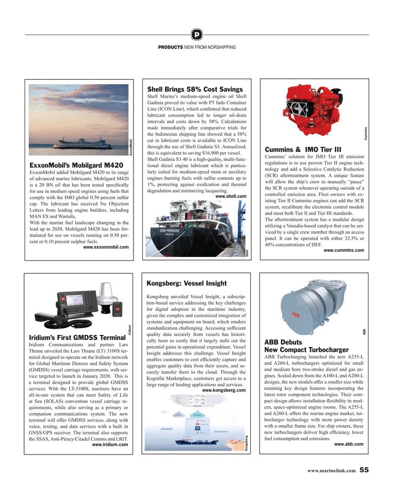 Maritime Reporter Magazine, page 55,  Jul 2019