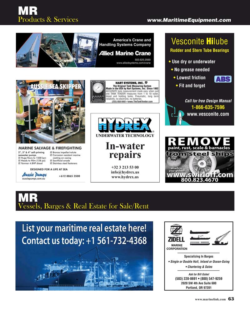 Maritime Reporter Magazine, page 63,  Jul 2019