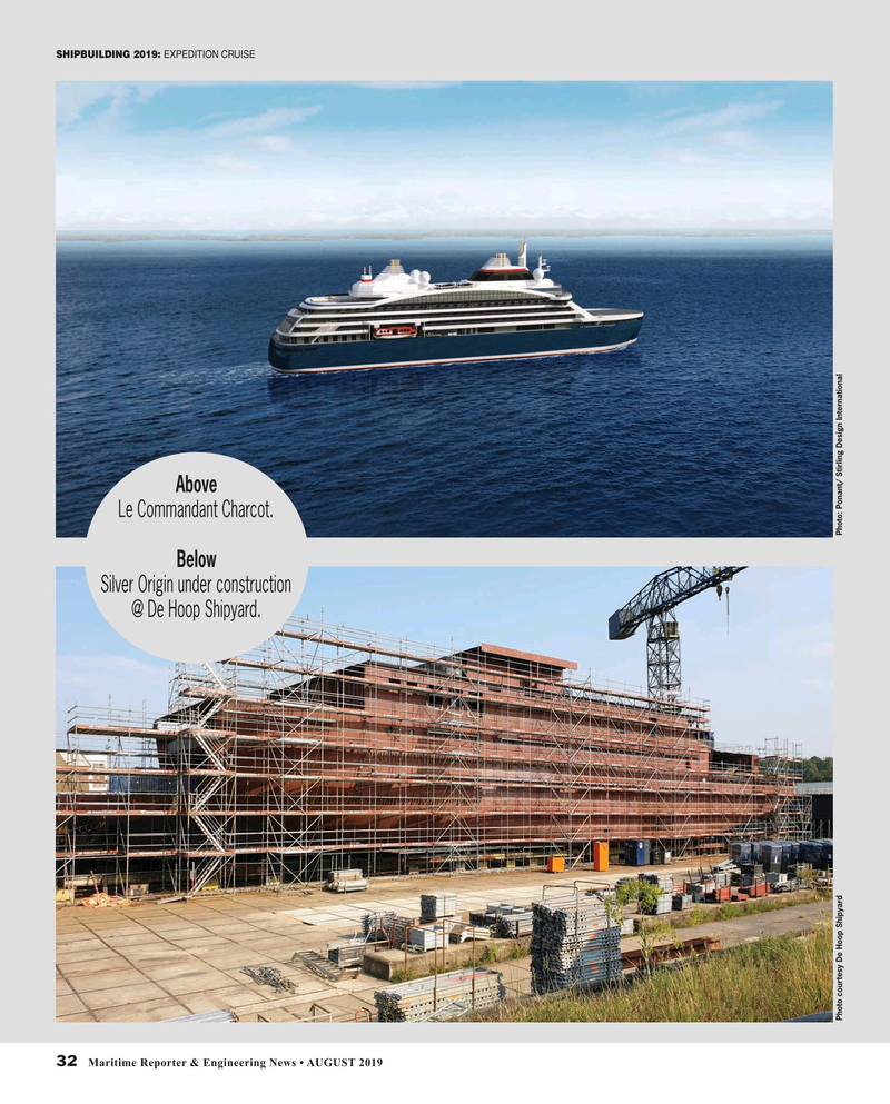 Maritime Reporter Magazine, page 32,  Aug 2019