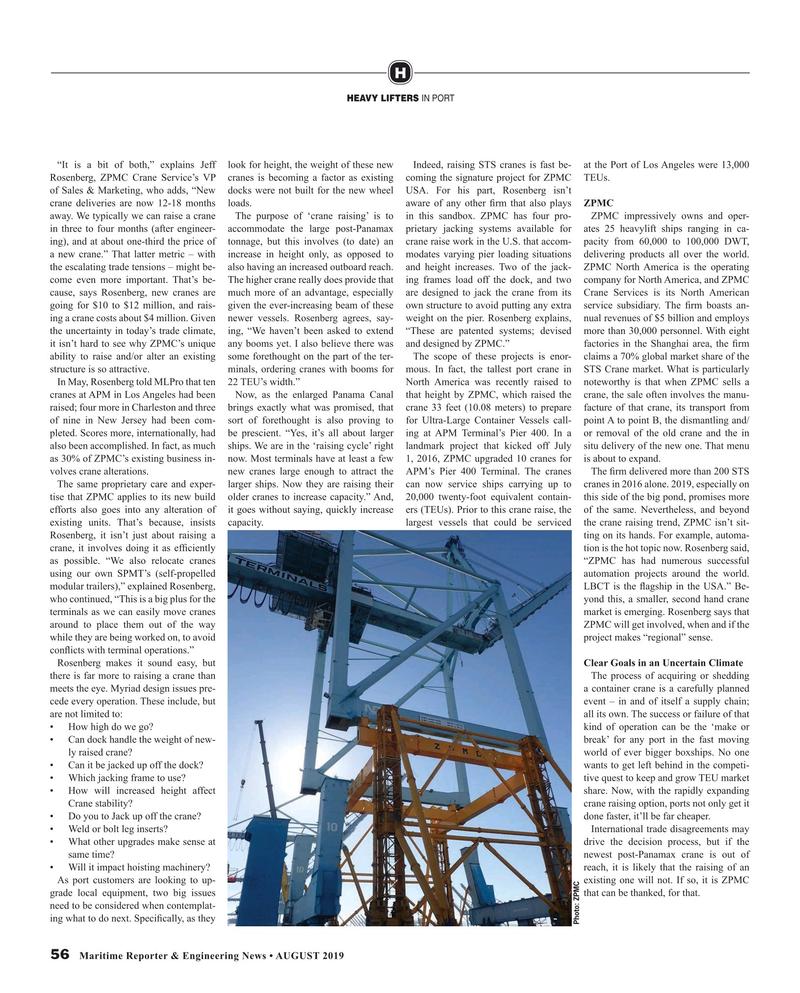 Maritime Reporter Magazine, page 56,  Aug 2019