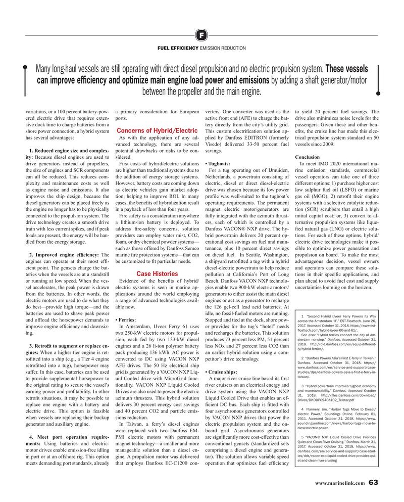 Maritime Reporter Magazine, page 63,  Aug 2019