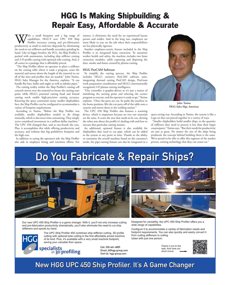 Maritime Reporter Magazine, page 69,  Aug 2019