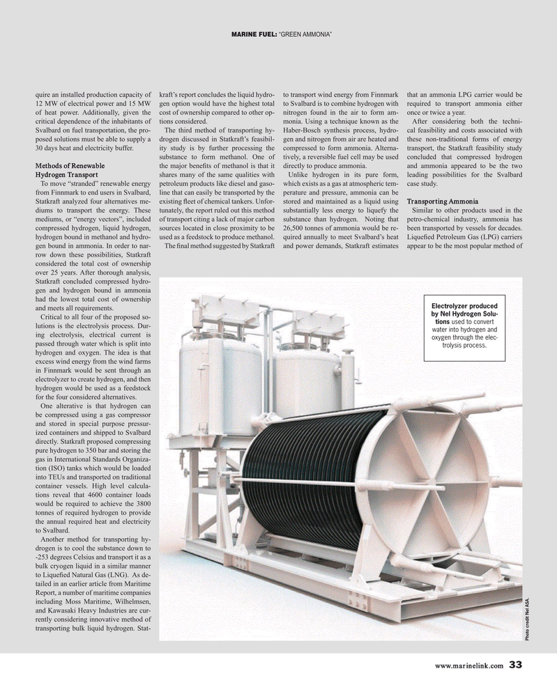 Maritime Reporter Magazine, page 33,  Sep 2019
