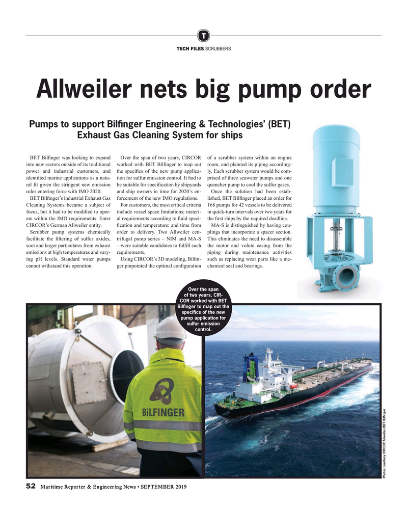 Maritime Reporter Magazine, page 52,  Sep 2019