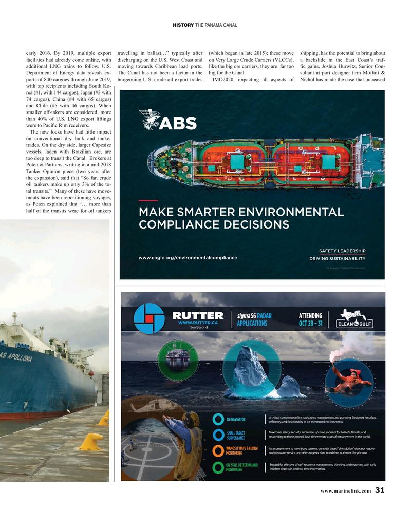 Maritime Reporter Magazine, page 31,  Oct 2019