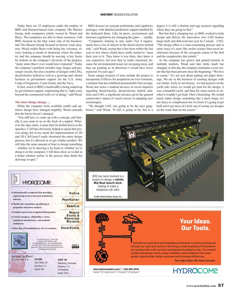 Maritime Reporter Magazine, page 57,  Oct 2019