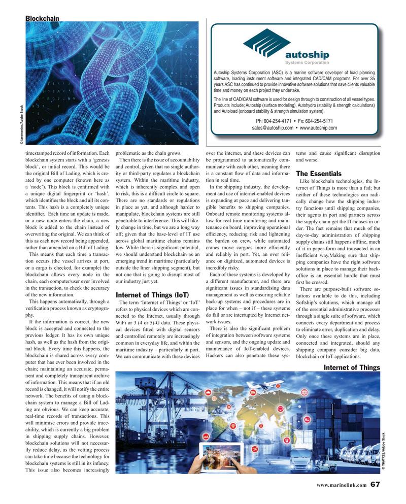 Maritime Reporter Magazine, page 67,  Oct 2019
