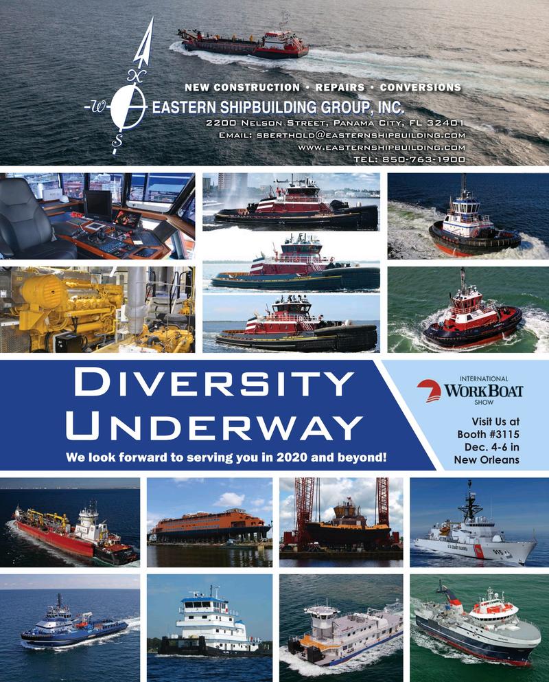 Maritime Reporter Magazine, page 25,  Nov 2019