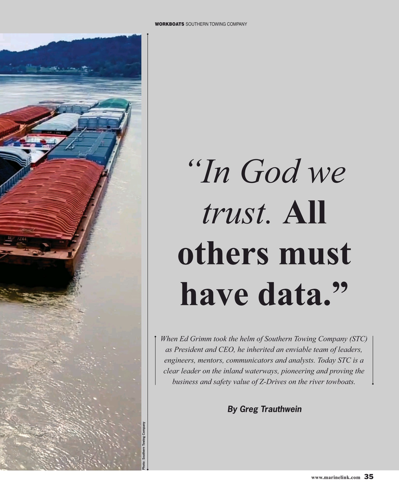 Maritime Reporter Magazine, page 35,  Nov 2019