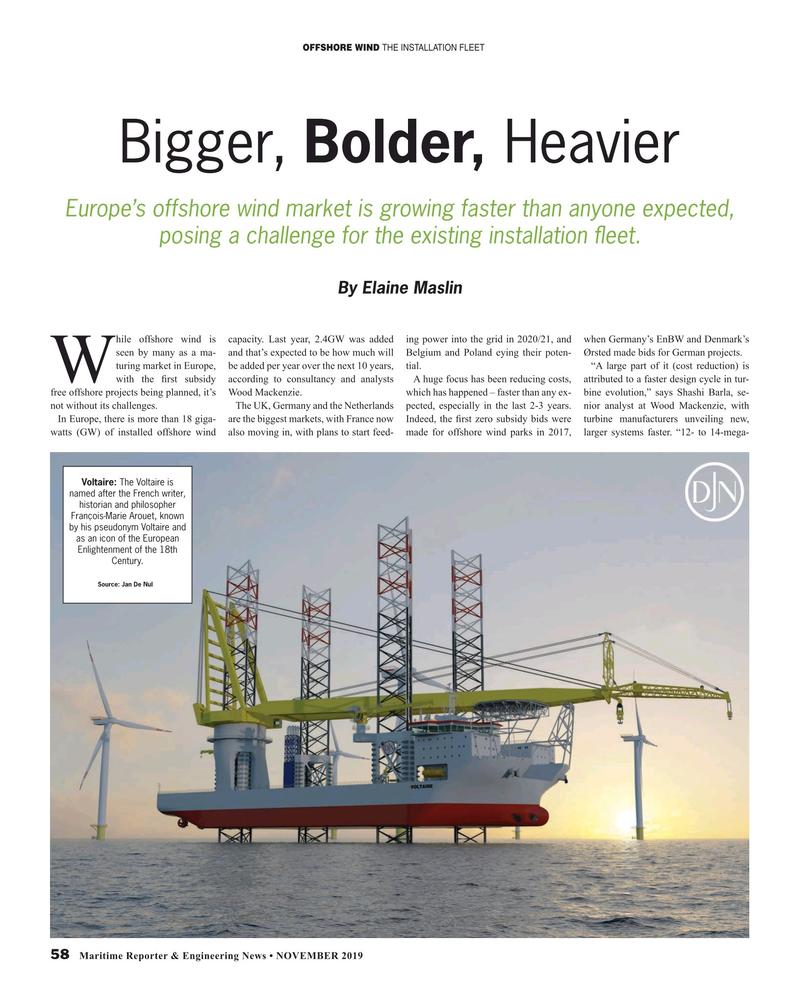 Maritime Reporter Magazine, page 58,  Nov 2019