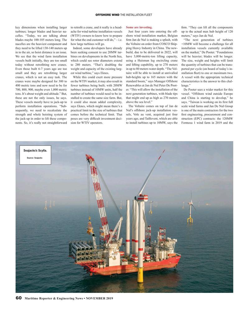 Maritime Reporter Magazine, page 60,  Nov 2019
