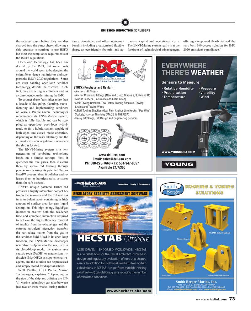 Maritime Reporter Magazine, page 73,  Nov 2019