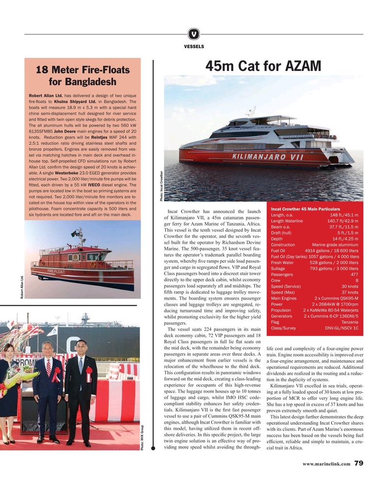 Maritime Reporter Magazine, page 79,  Nov 2019