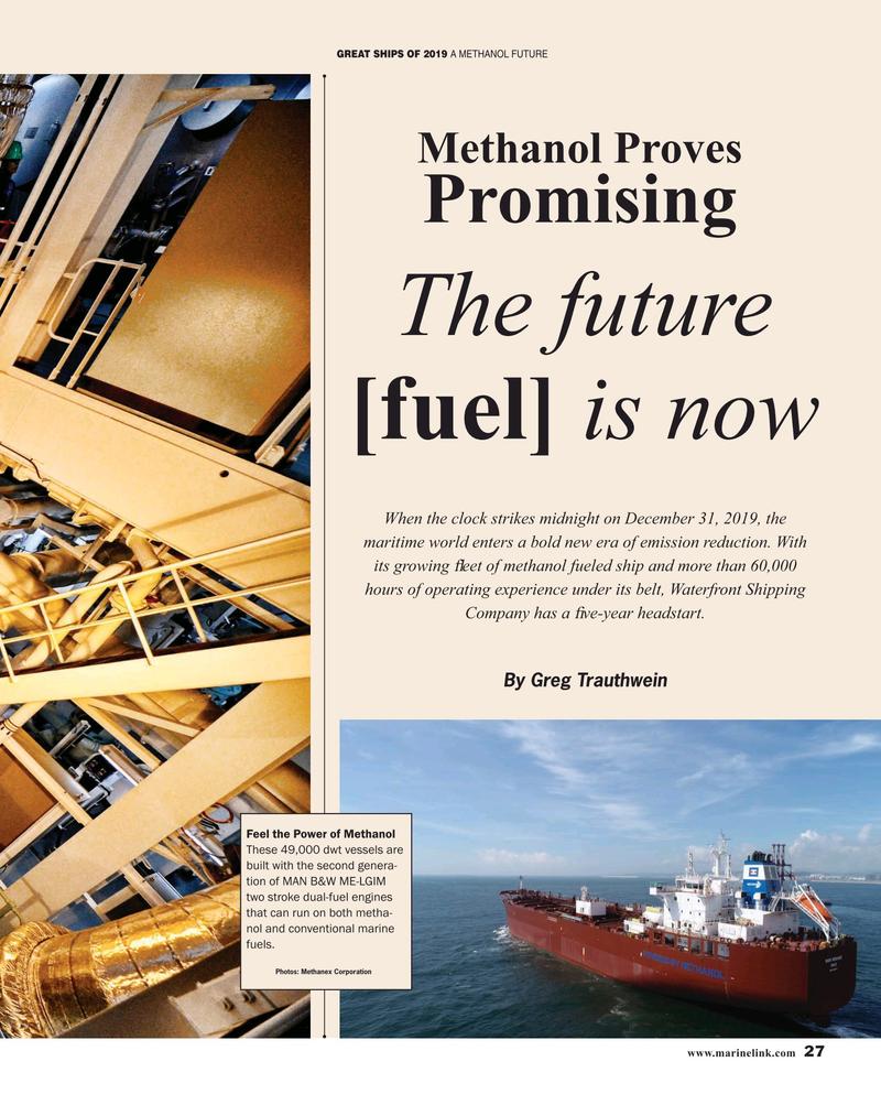 Maritime Reporter Magazine, page 27,  Dec 2019
