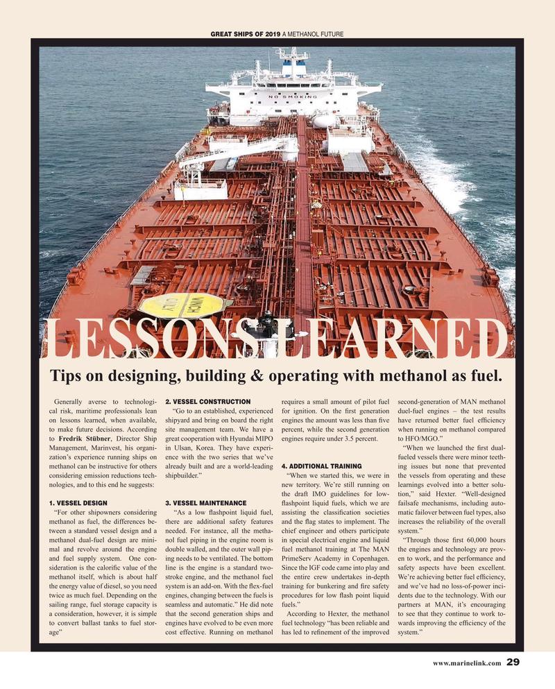 Maritime Reporter Magazine, page 29,  Dec 2019