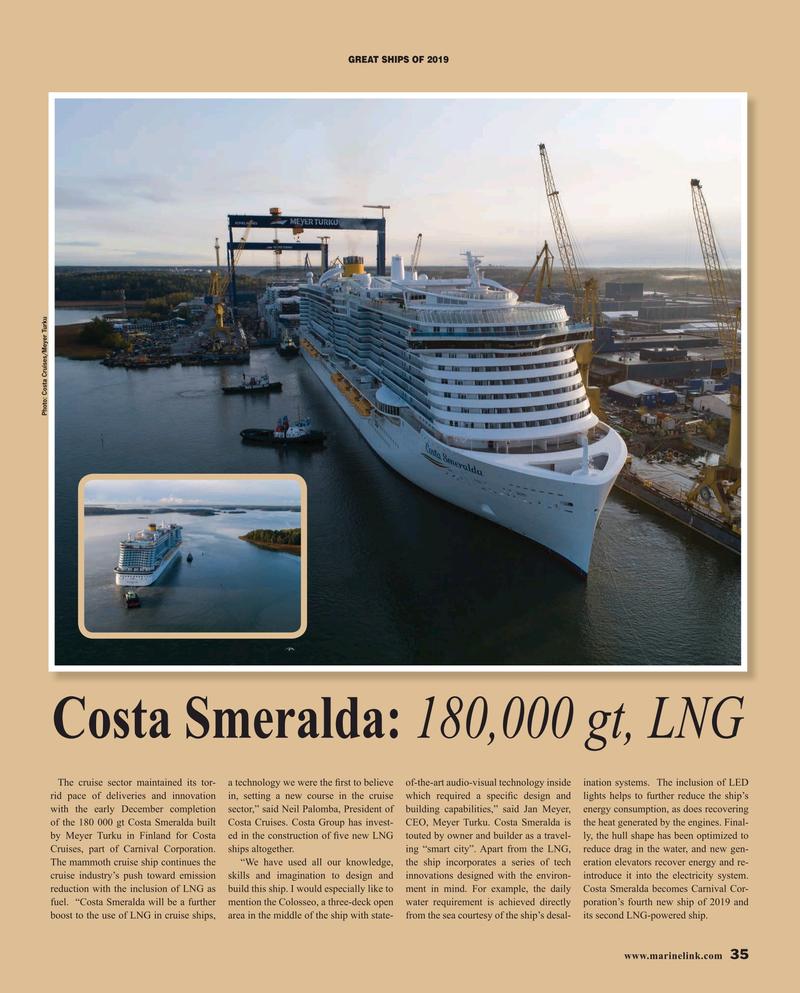 Maritime Reporter Magazine, page 35,  Dec 2019