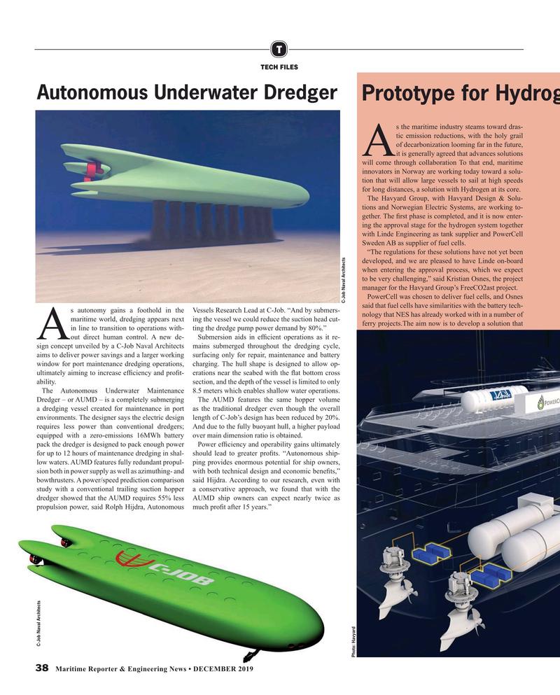 Maritime Reporter Magazine, page 38,  Dec 2019