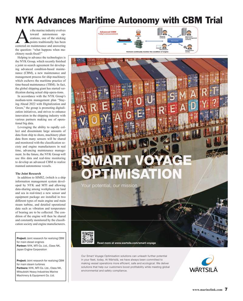 Maritime Reporter Magazine, page 7,  Dec 2019