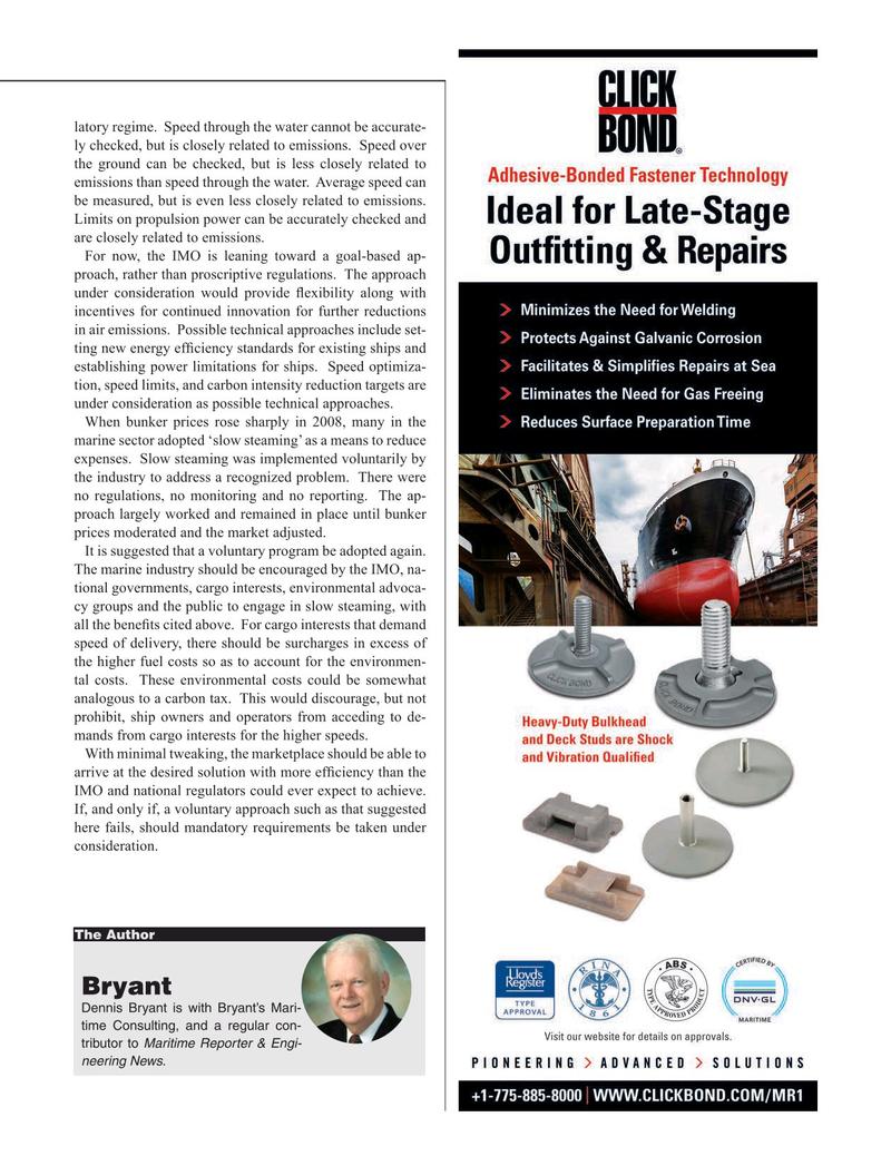 Maritime Reporter Magazine, page 19,  Jan 2020
