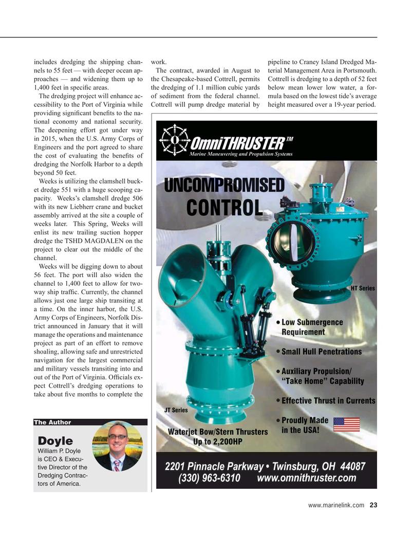 Maritime Reporter Magazine, page 23,  Mar 2020