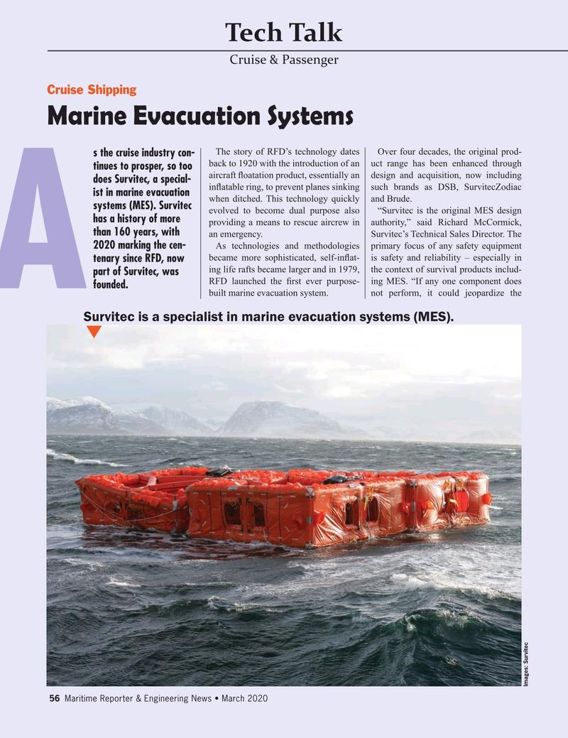 Maritime Reporter Magazine, page 56,  Mar 2020