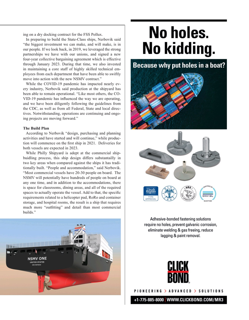Maritime Reporter Magazine, page 9,  May 2020