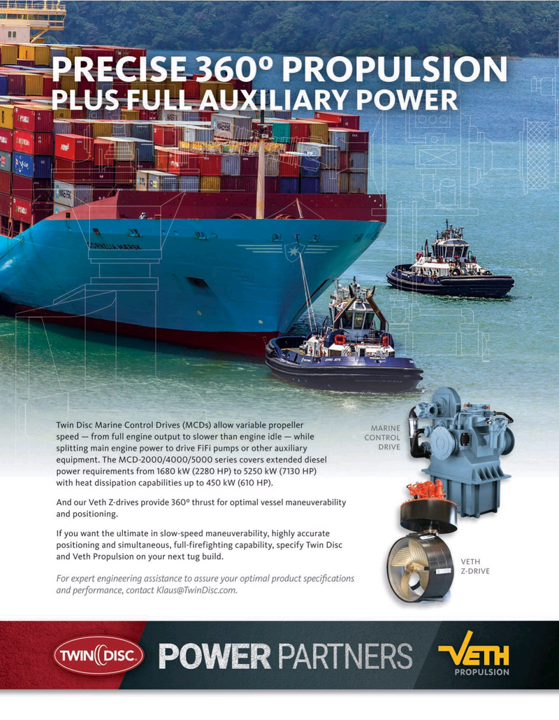 Maritime Reporter Magazine, page 11,  May 2020