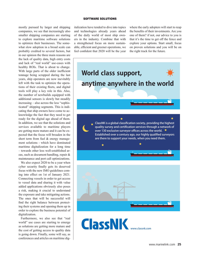 Maritime Reporter Magazine, page 25,  May 2020