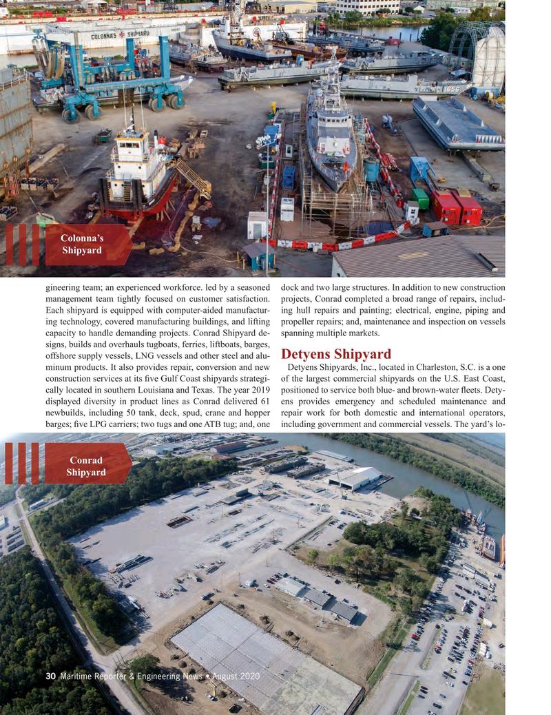 Maritime Reporter Magazine, page 30,  Aug 2020