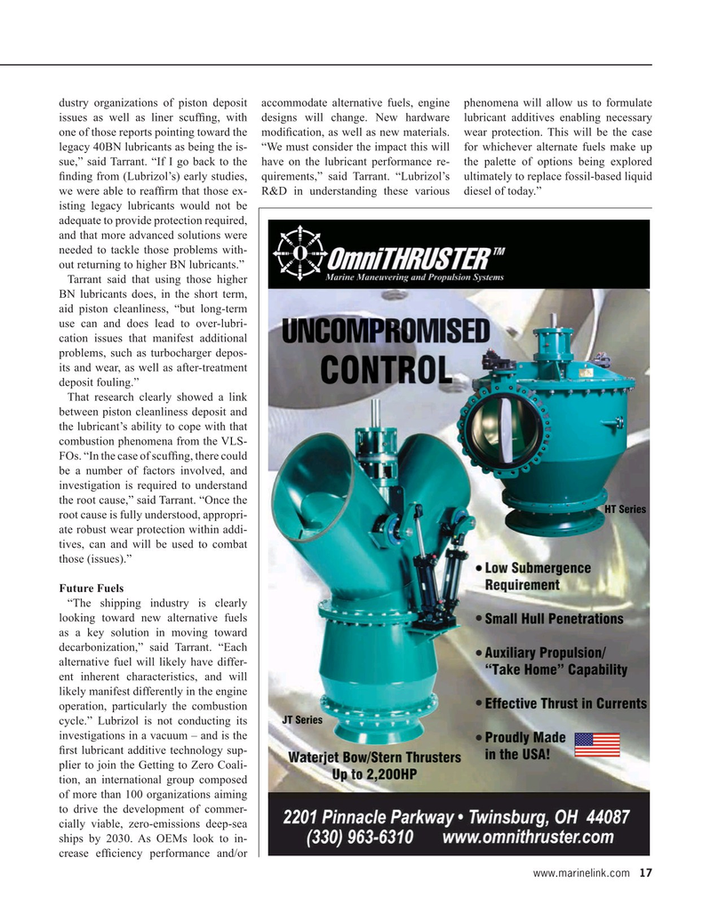 Maritime Reporter Magazine, page 17,  Sep 2020